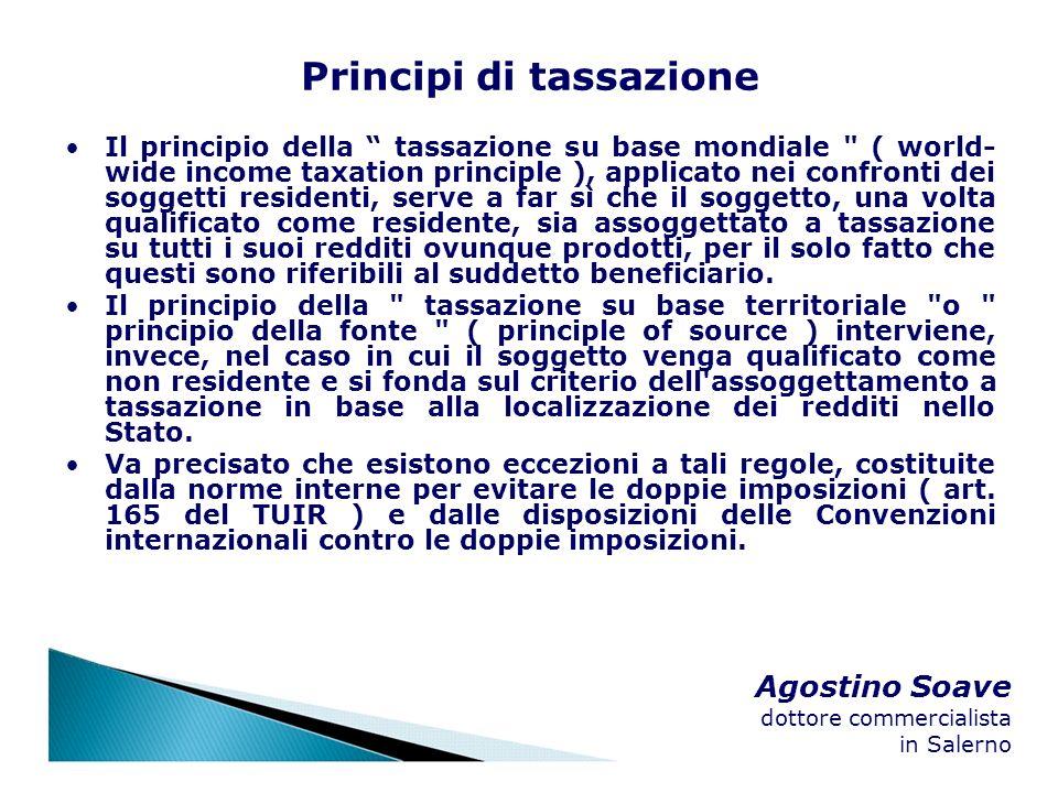 Principi di tassazione