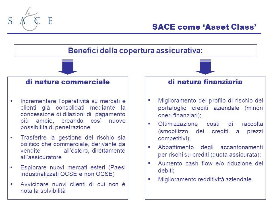 SACE come 'Asset Class'