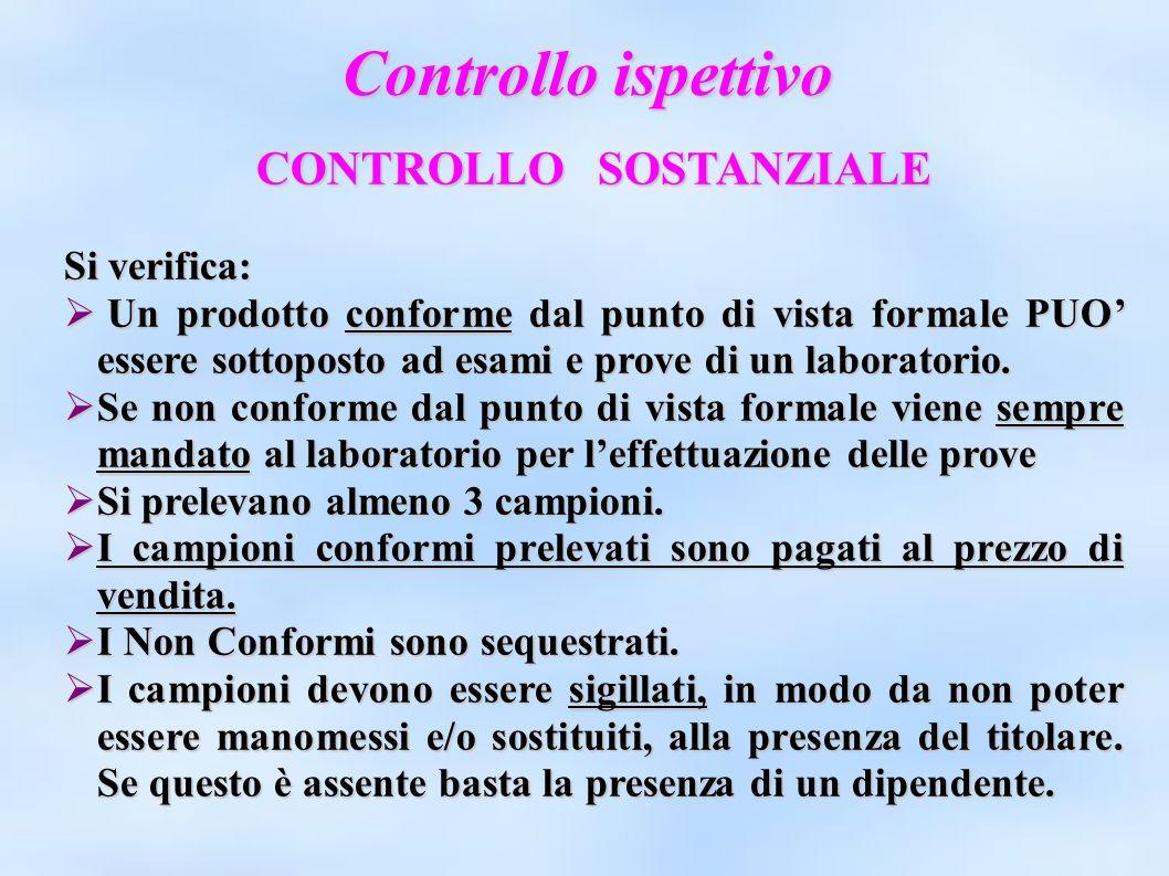 CONTROLLO SOSTANZIALE