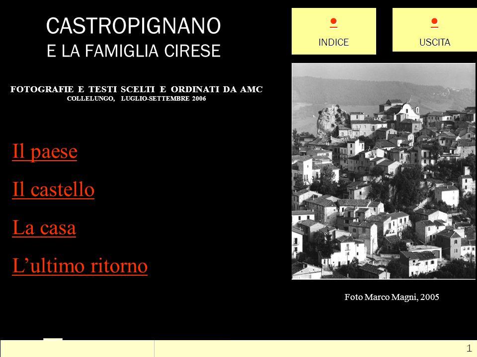 CASTROPIGNANO E LA FAMIGLIA CIRESE