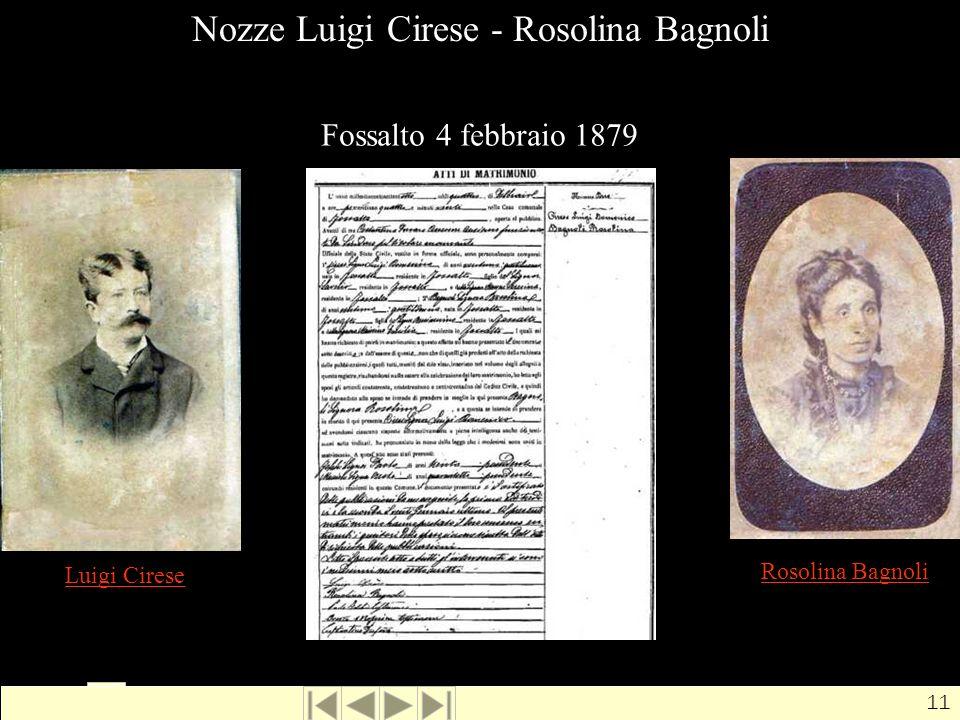 Nozze Luigi Cirese - Rosolina Bagnoli