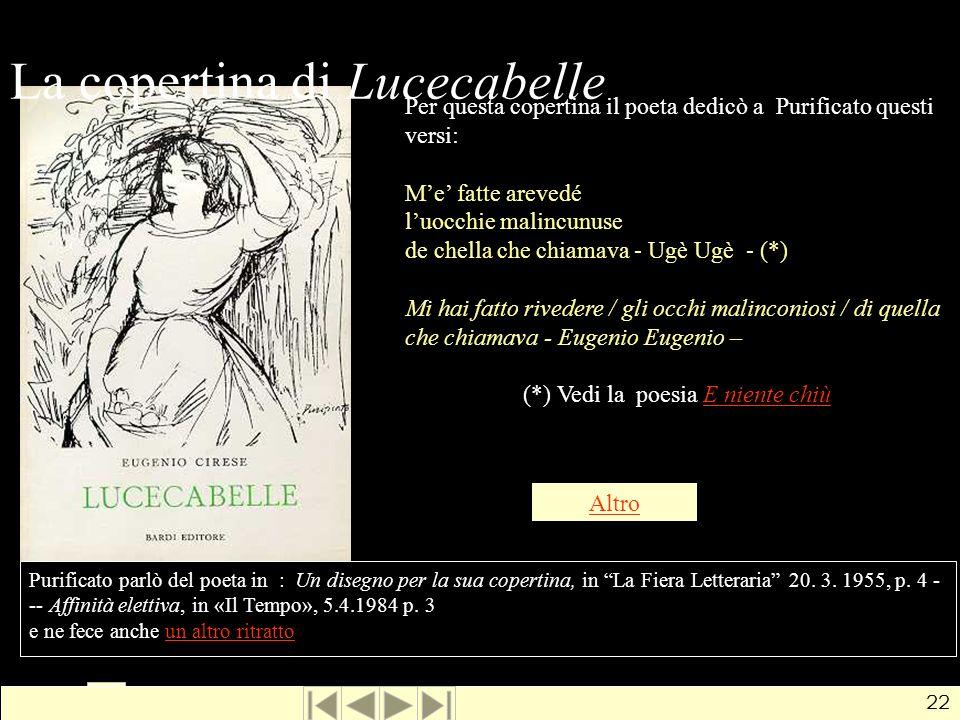 La copertina di Lucecabelle