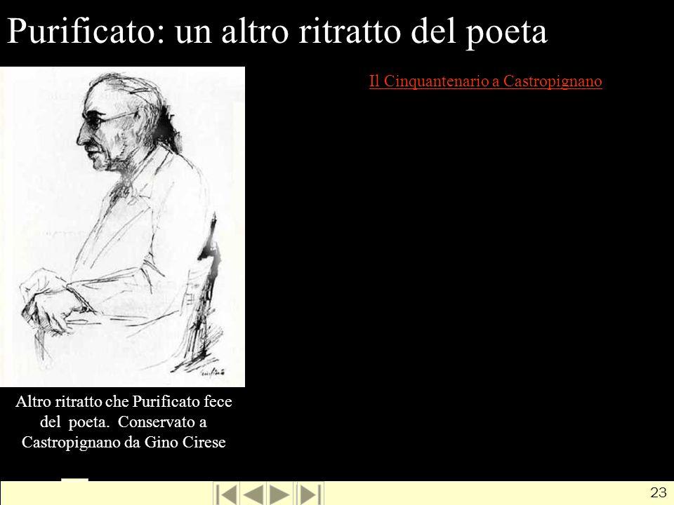 Purificato: un altro ritratto del poeta