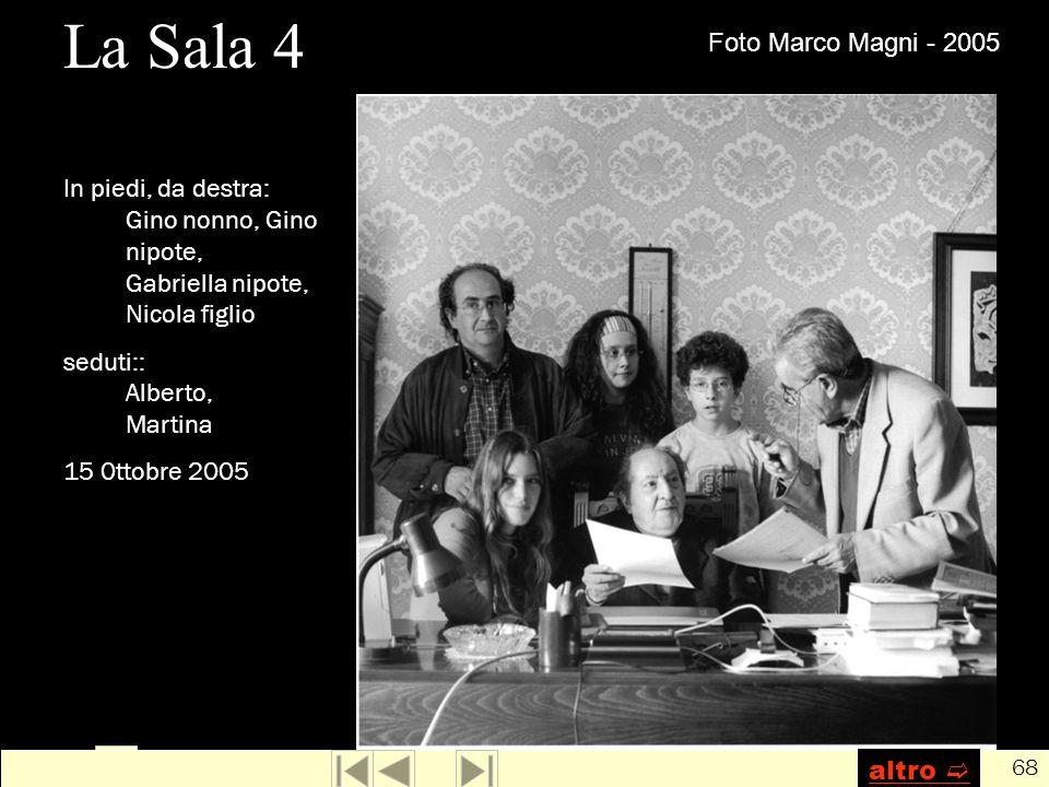 La Sala 4 Foto Marco Magni - 2005