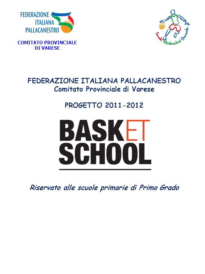 FEDERAZIONE ITALIANA PALLACANESTRO Comitato Provinciale di Varese