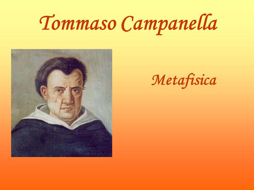 Tommaso Campanella Metafisica