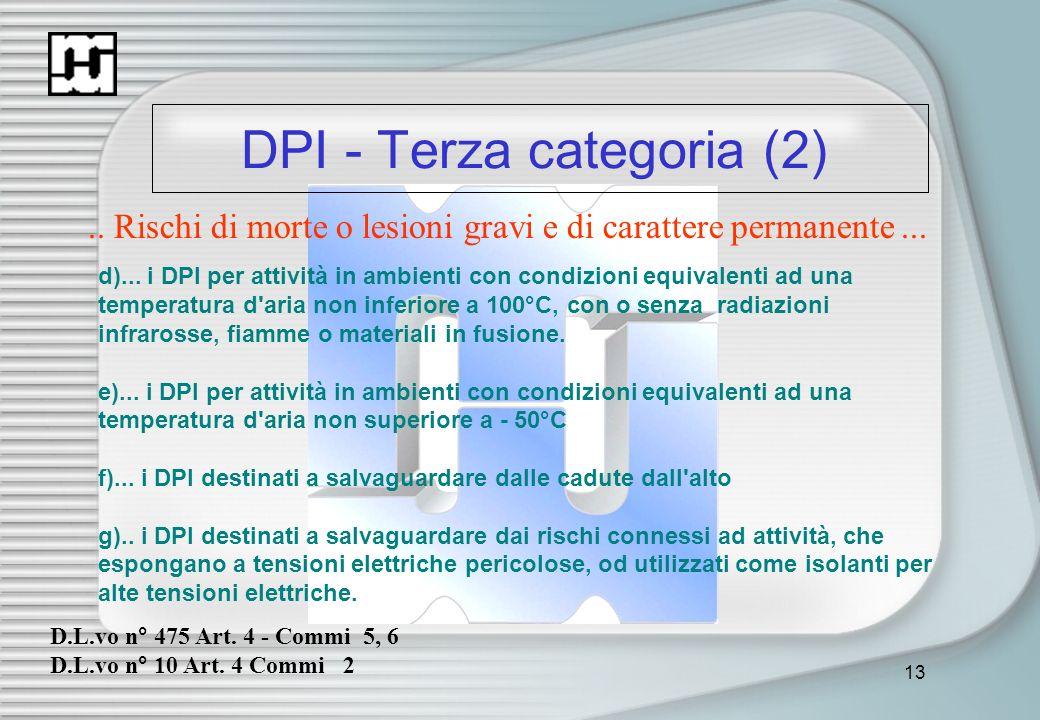 DPI - Terza categoria (2)