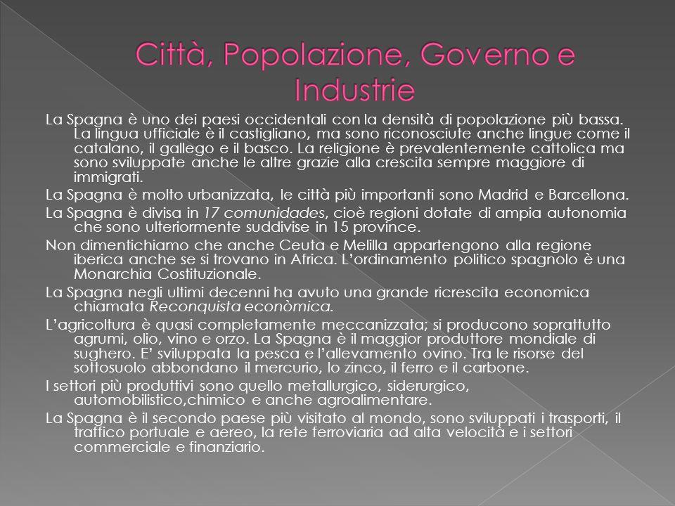 Città, Popolazione, Governo e Industrie