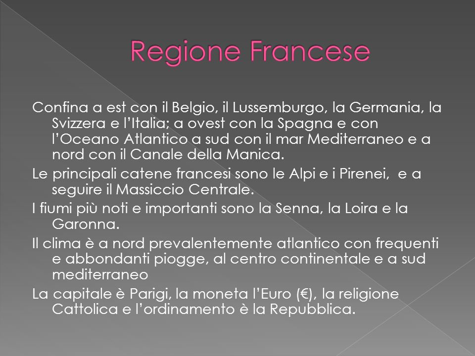 Regione Francese