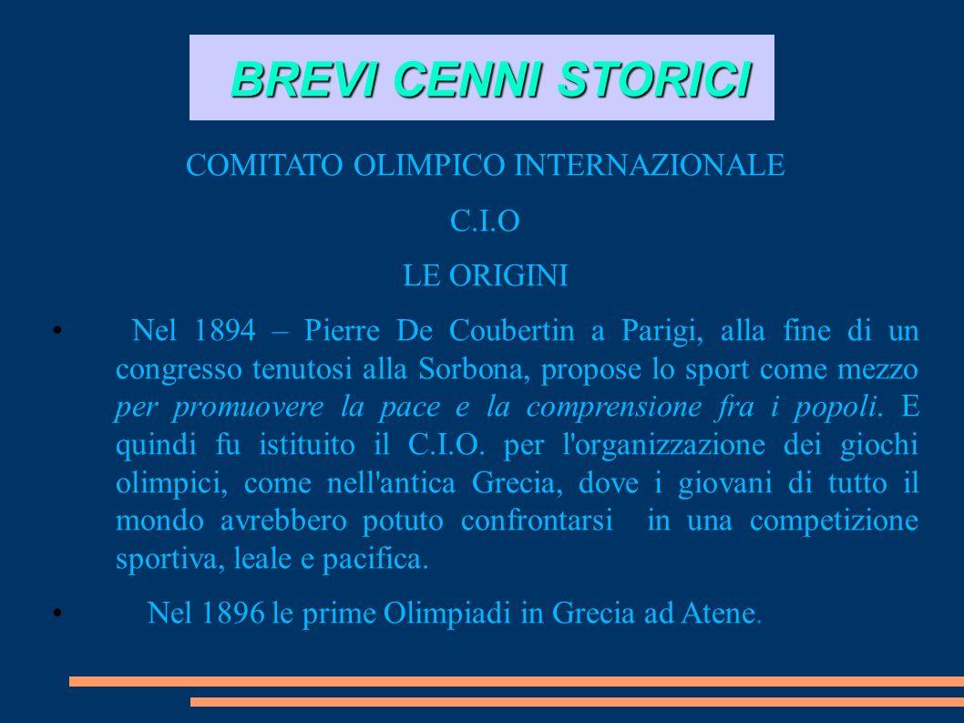 COMITATO OLIMPICO INTERNAZIONALE