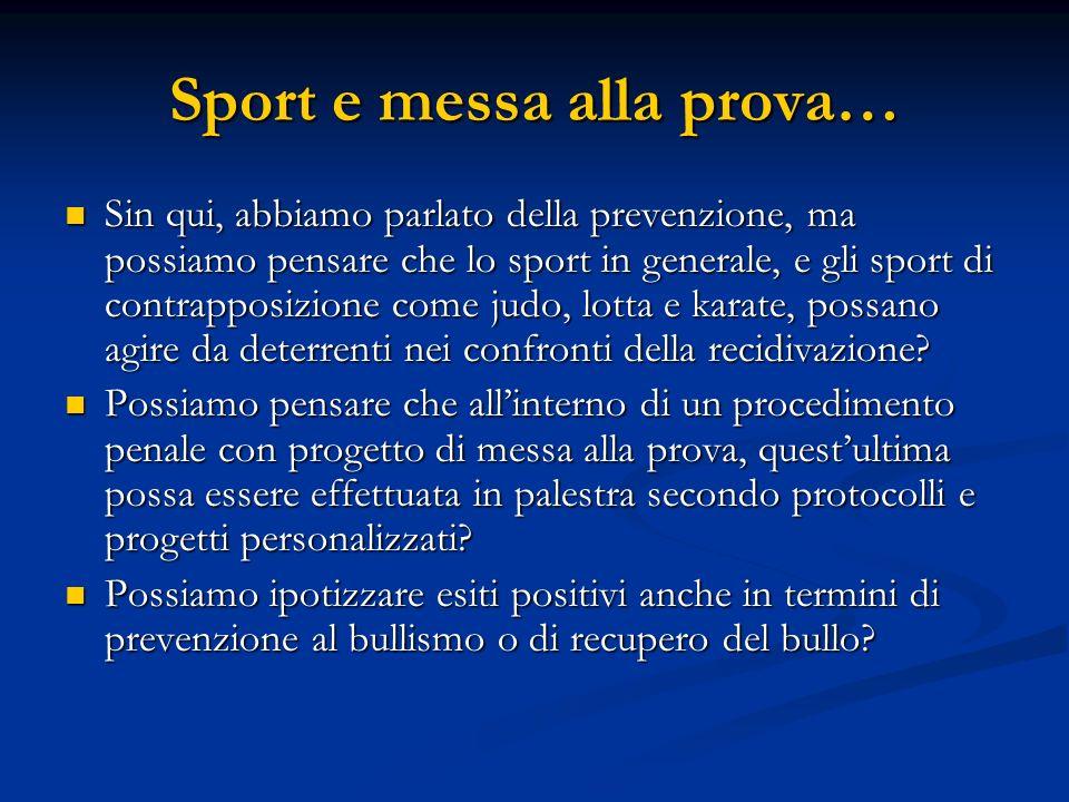 Sport e messa alla prova…