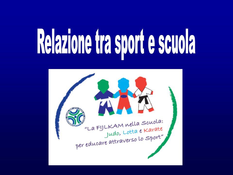 Relazione tra sport e scuola