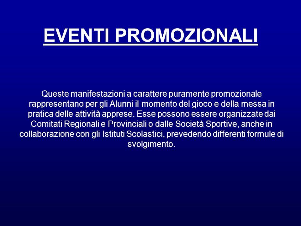 EVENTI PROMOZIONALI