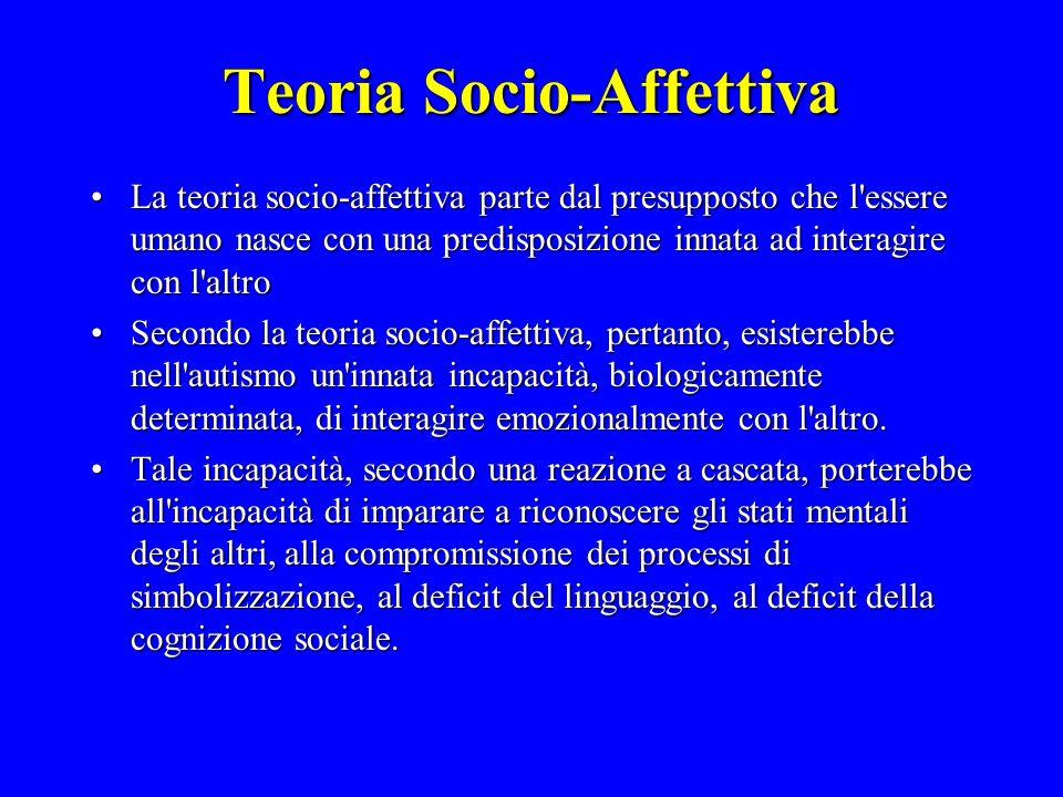 Teoria Socio-Affettiva