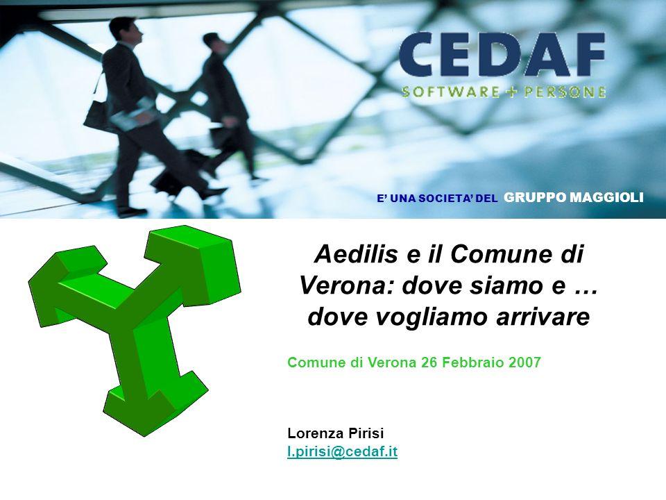 Aedilis e il Comune di Verona: dove siamo e … dove vogliamo arrivare