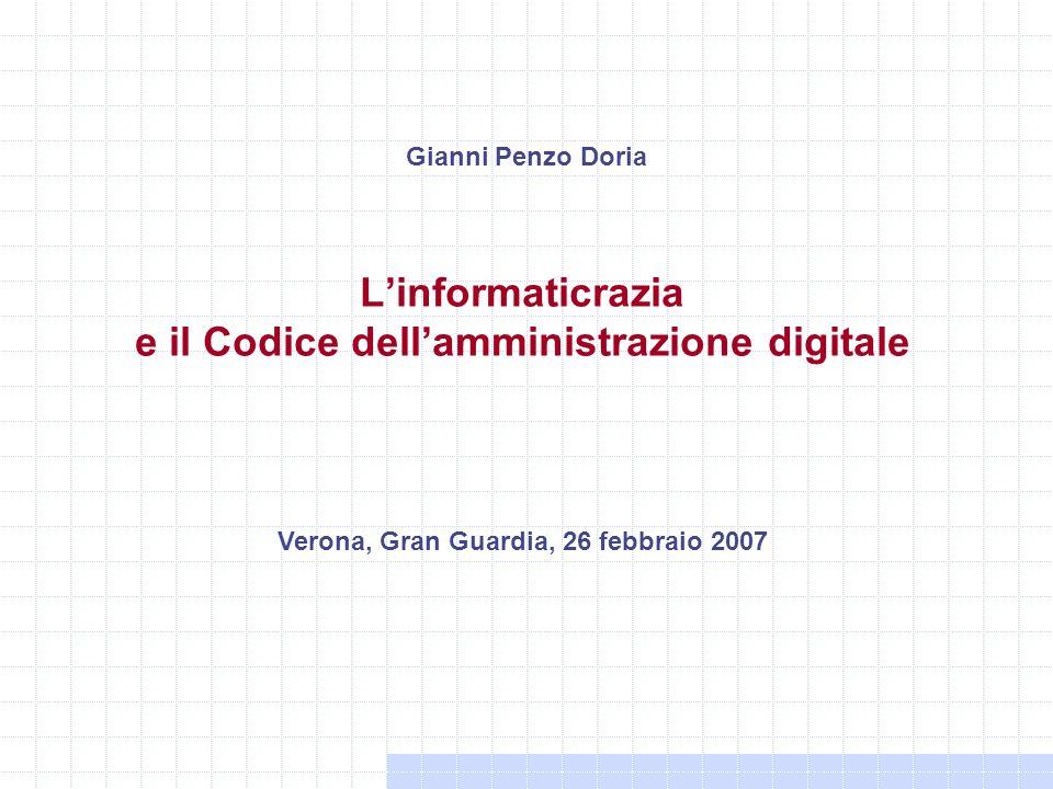 L'informaticrazia e il Codice dell'amministrazione digitale