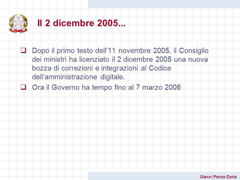 Il 2 dicembre 2005...