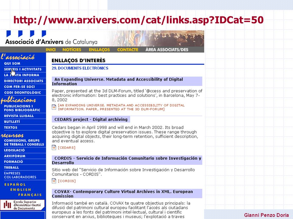 http://www.arxivers.com/cat/links.asp IDCat=50