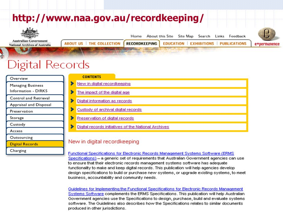 http://www.naa.gov.au/recordkeeping/