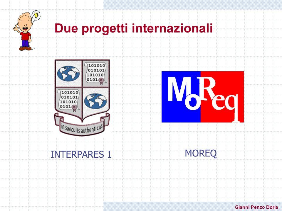 Due progetti internazionali