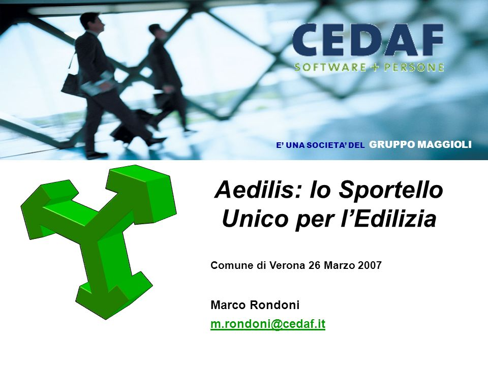 Aedilis: lo Sportello Unico per l'Edilizia