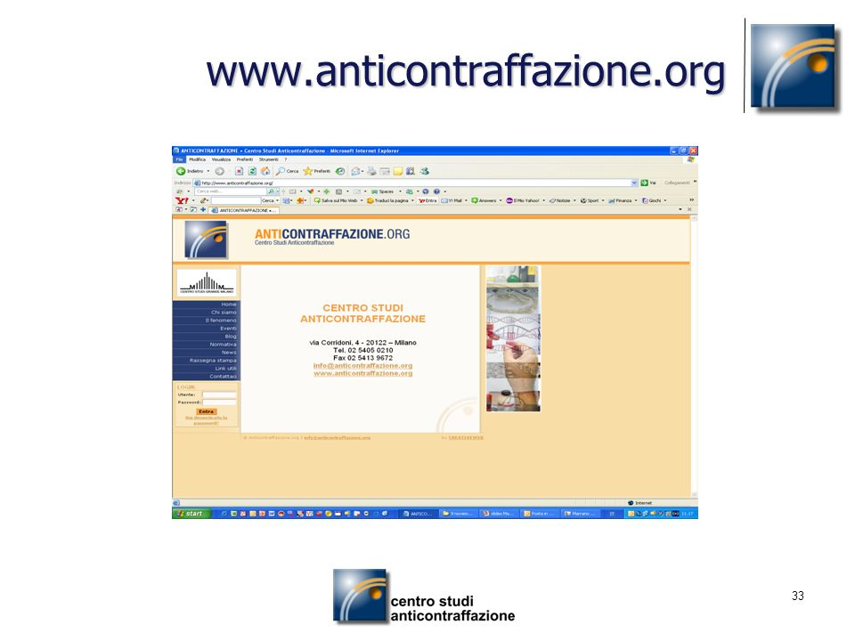 www.anticontraffazione.org