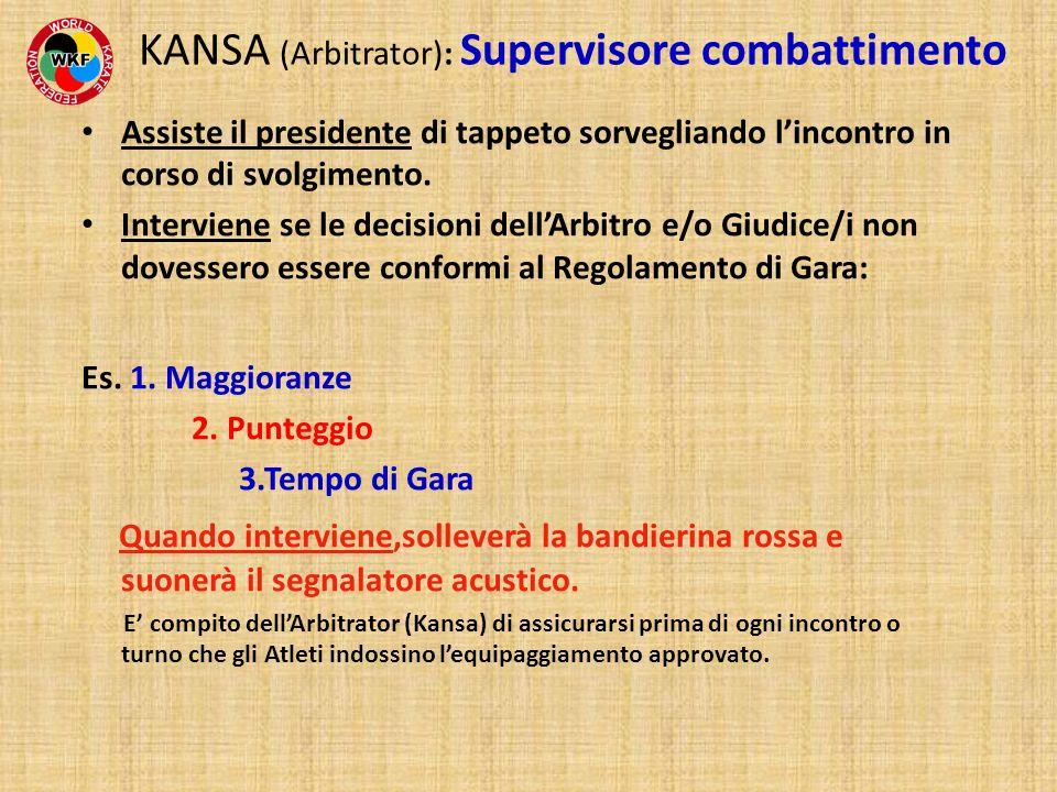 KANSA (Arbitrator): Supervisore combattimento