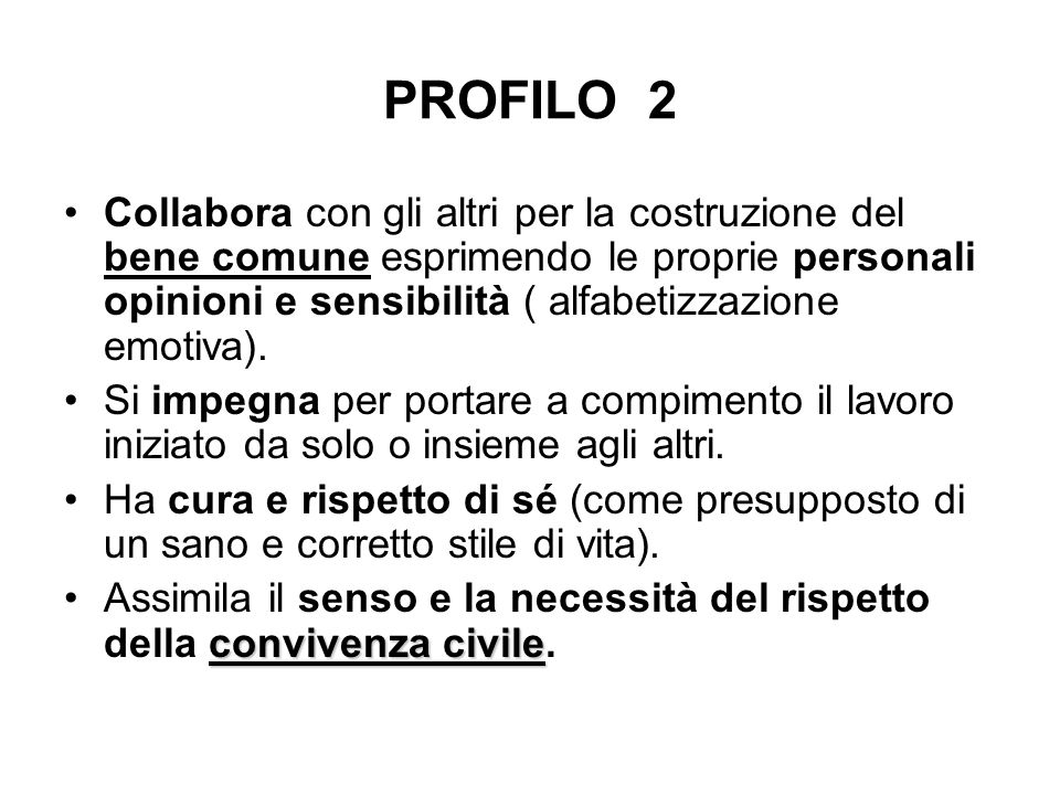PROFILO 2