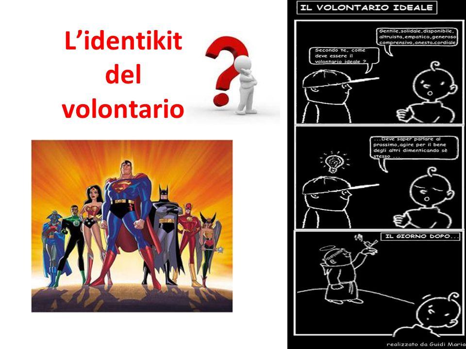 L'identikit del volontario
