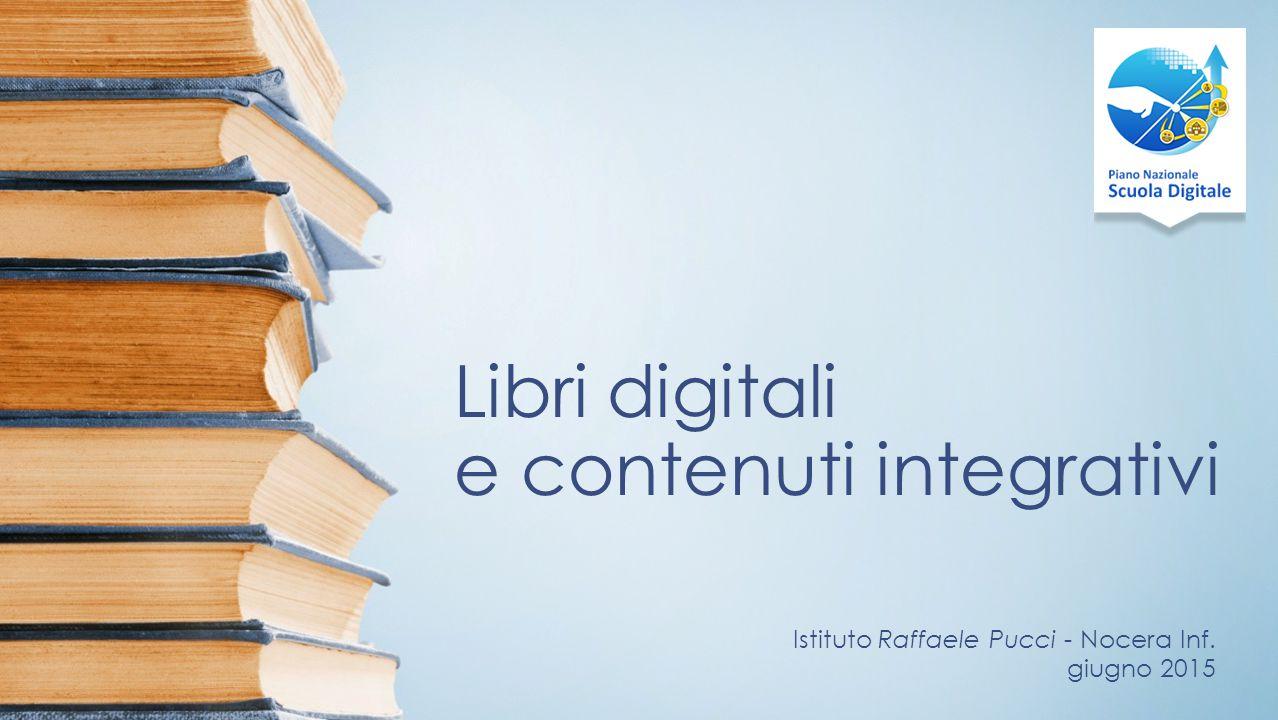 Libri digitali e contenuti integrativi