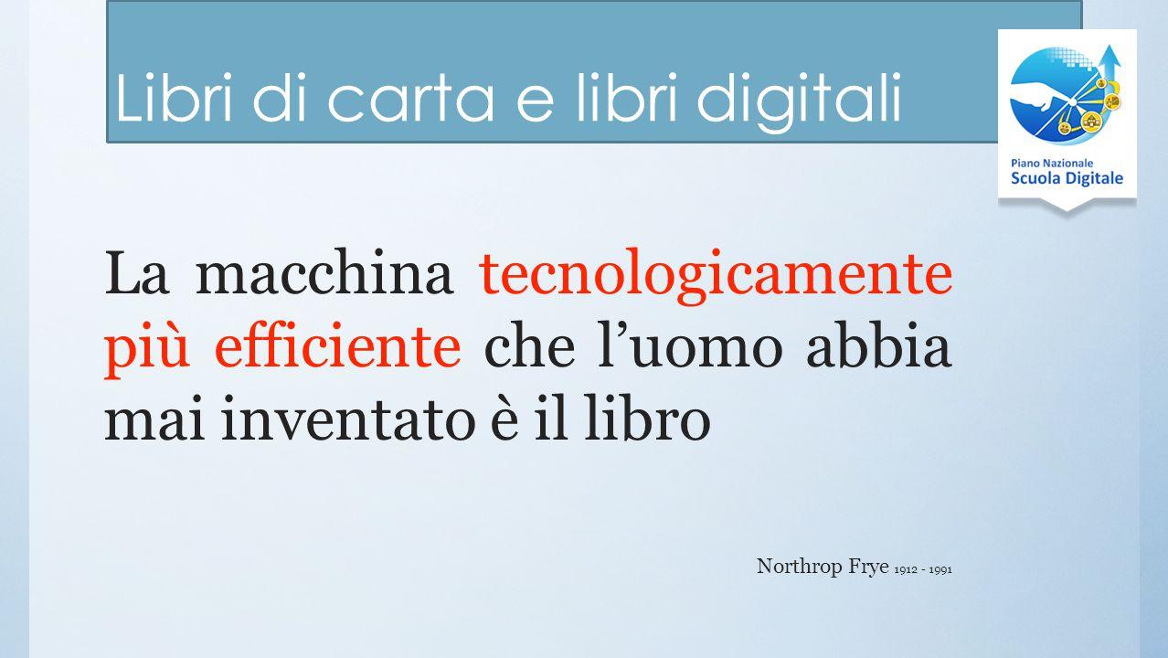 Libri di carta e libri digitali