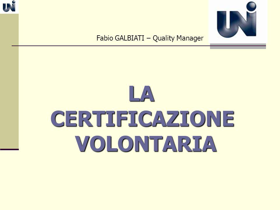 Fabio GALBIATI – Quality Manager