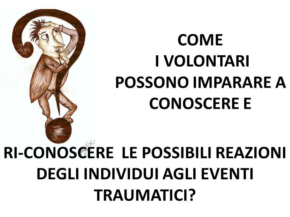 COME I VOLONTARI POSSONO IMPARARE A CONOSCERE E