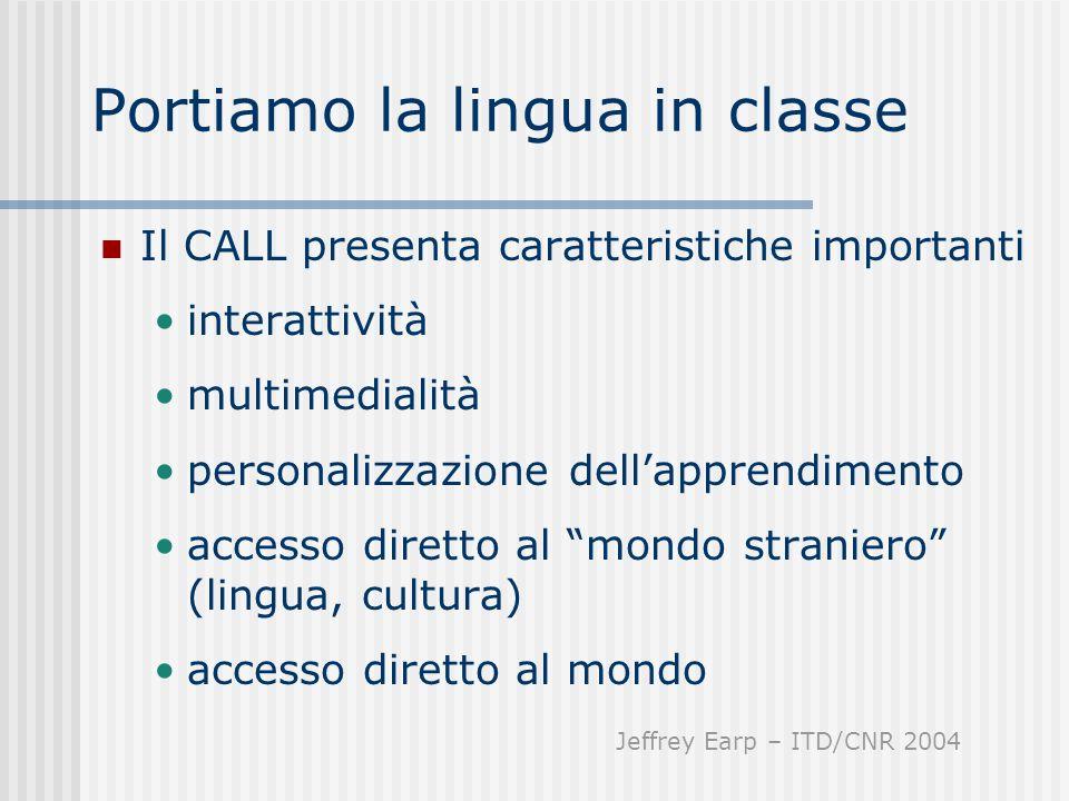 Portiamo la lingua in classe