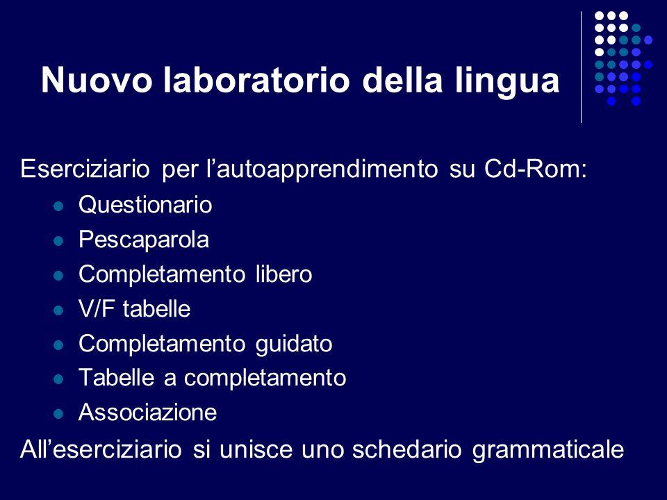 Nuovo laboratorio della lingua