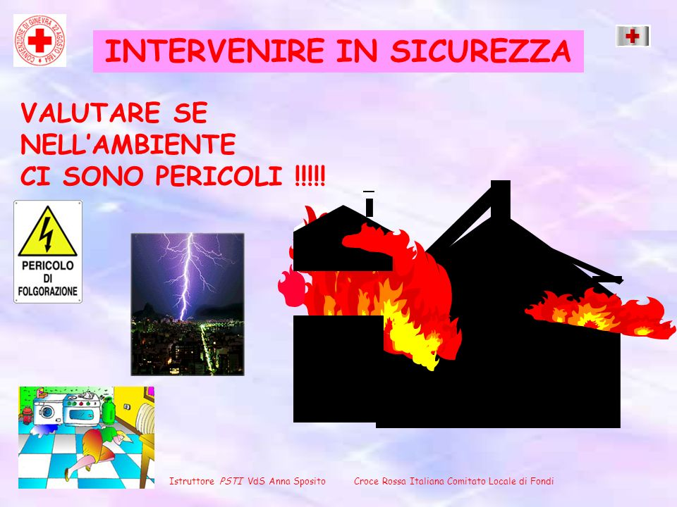 INTERVENIRE IN SICUREZZA