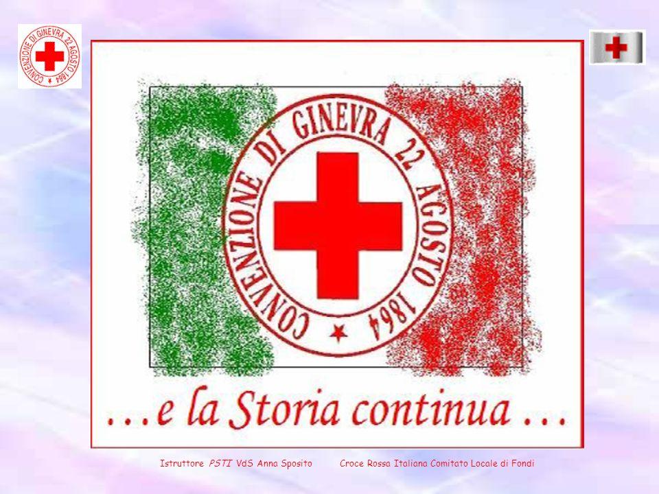 Istruttore PSTI VdS Anna Sposito Croce Rossa Italiana Comitato Locale di Fondi