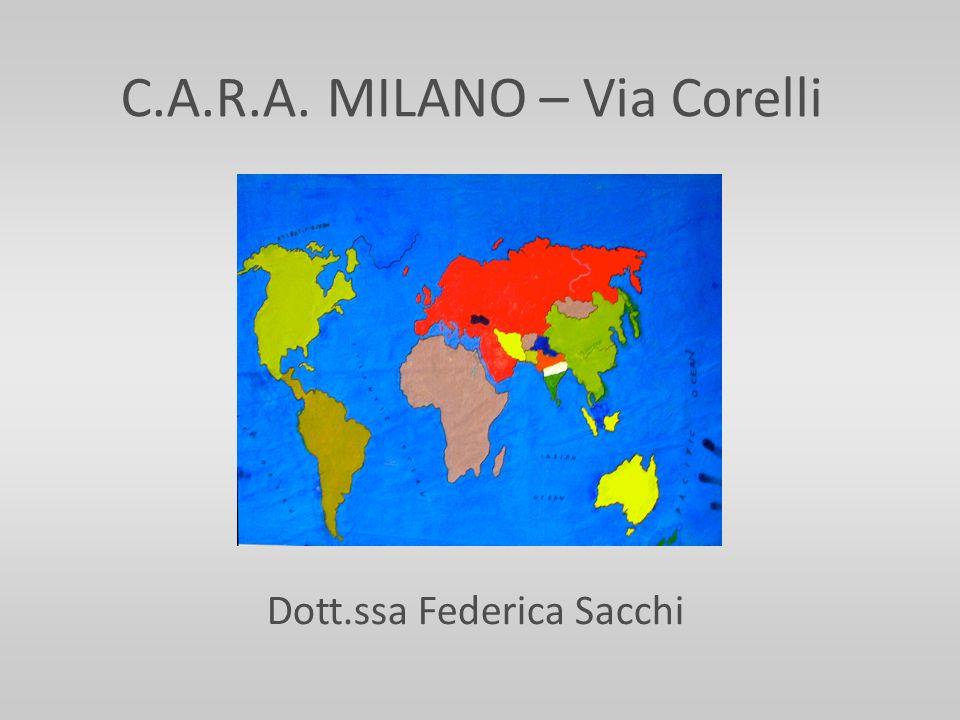 C.A.R.A. MILANO – Via Corelli