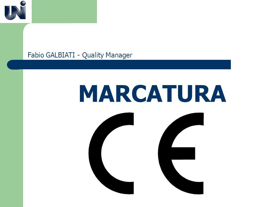 Fabio GALBIATI - Quality Manager