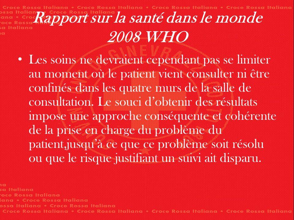 Rapport sur la santé dans le monde 2008 WHO