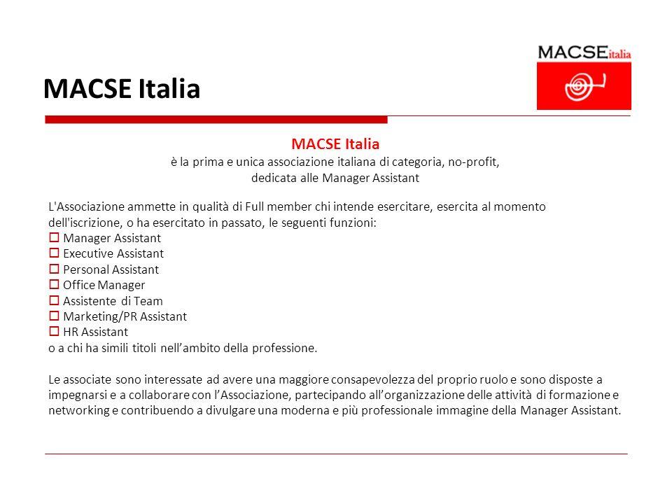 MACSE Italia MACSE Italia