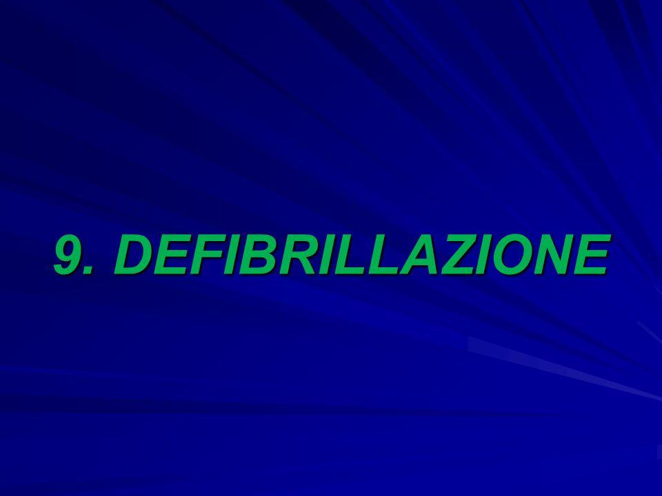 9. DEFIBRILLAZIONE