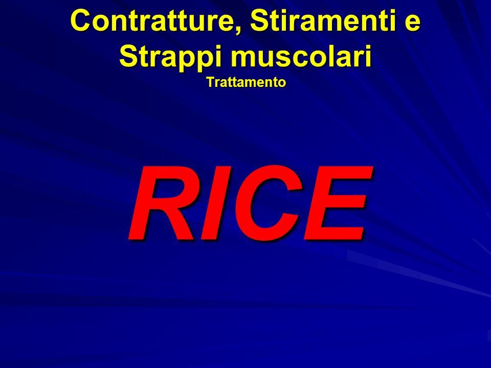 Contratture, Stiramenti e Strappi muscolari Trattamento