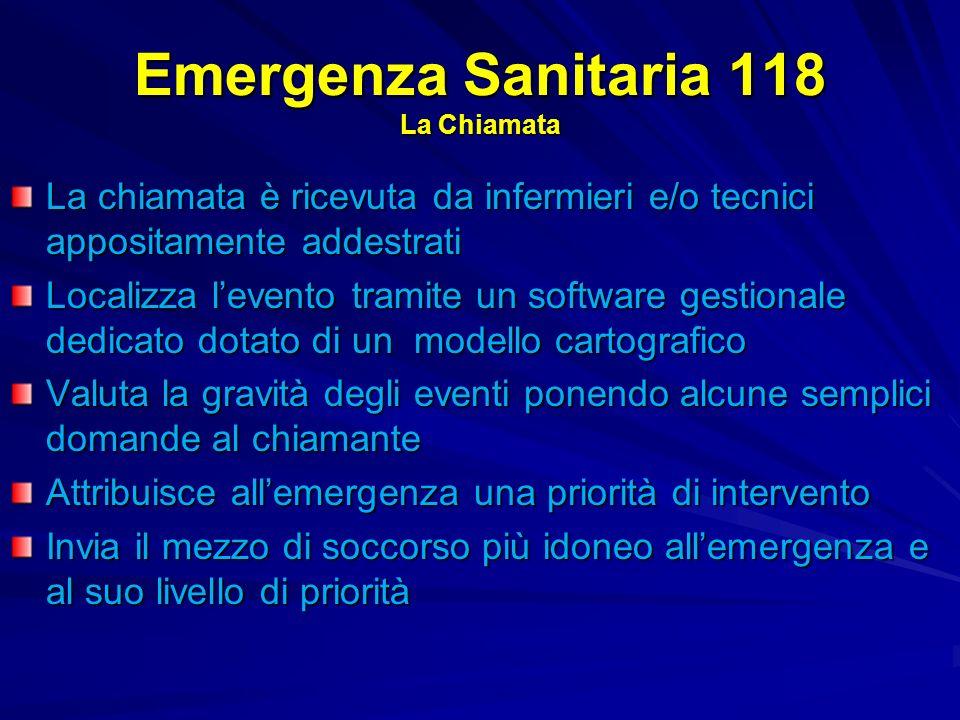 Emergenza Sanitaria 118 La Chiamata
