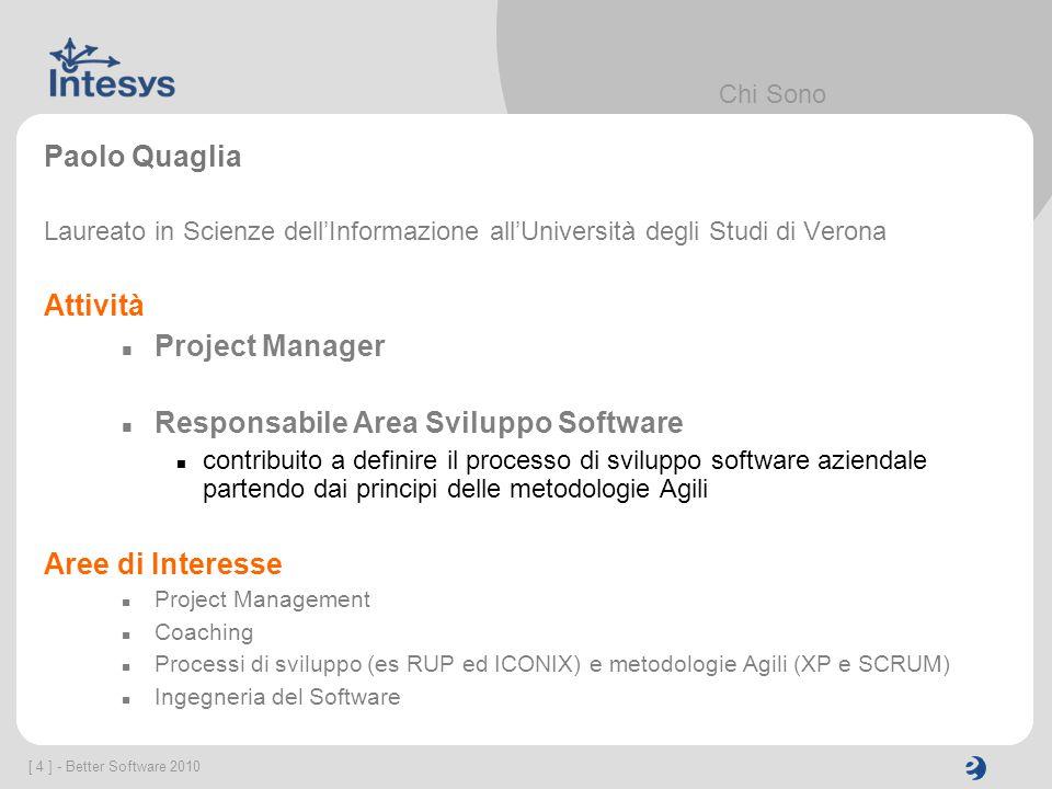 Responsabile Area Sviluppo Software