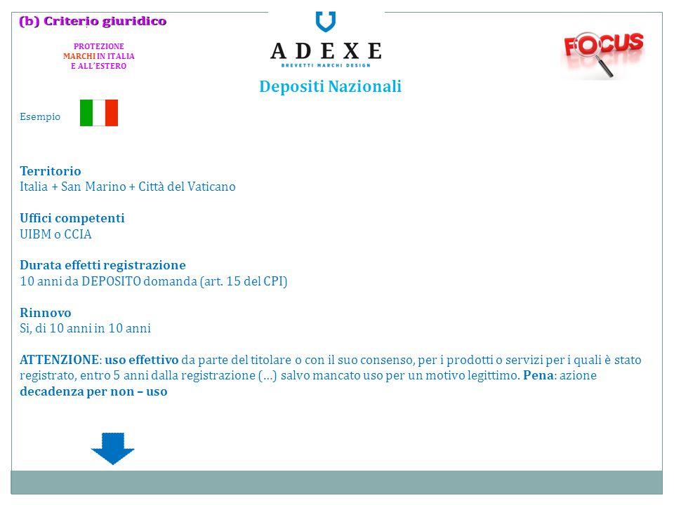 PROTEZIONE MARCHI IN ITALIA E ALL'ESTERO