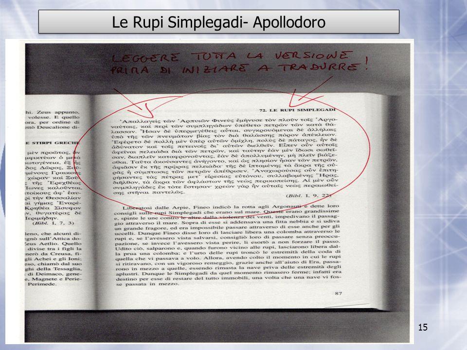 Le Rupi Simplegadi- Apollodoro