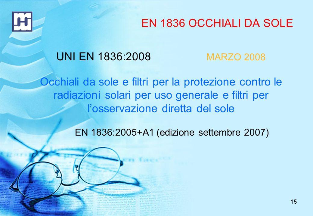 EN 1836:2005+A1 (edizione settembre 2007)