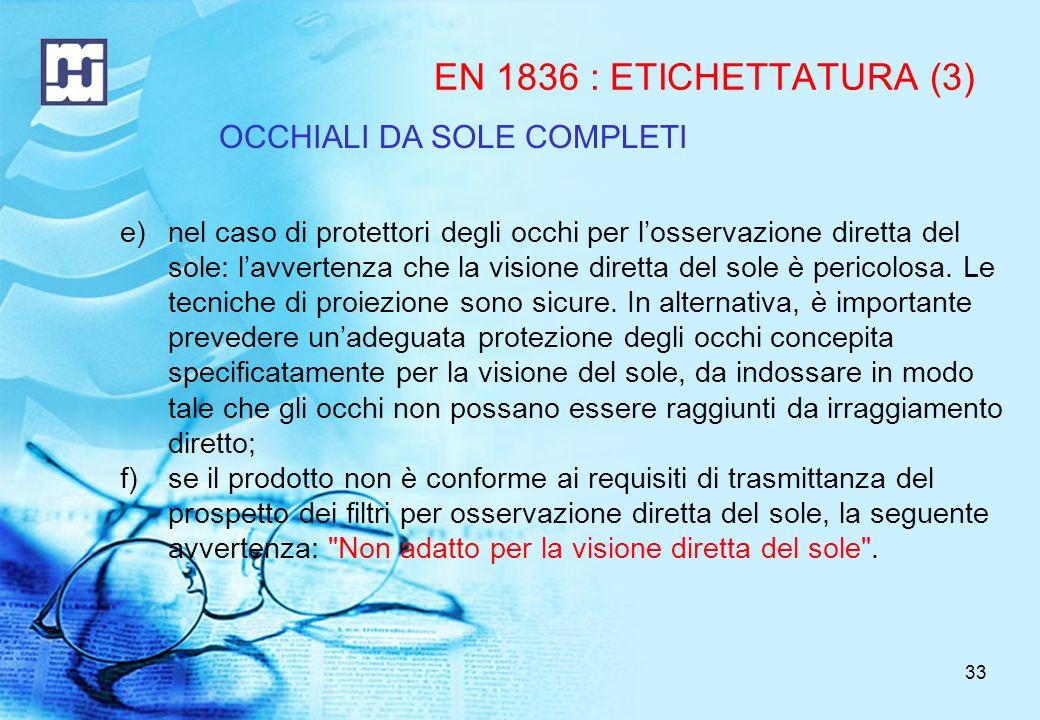 OCCHIALI DA SOLE COMPLETI