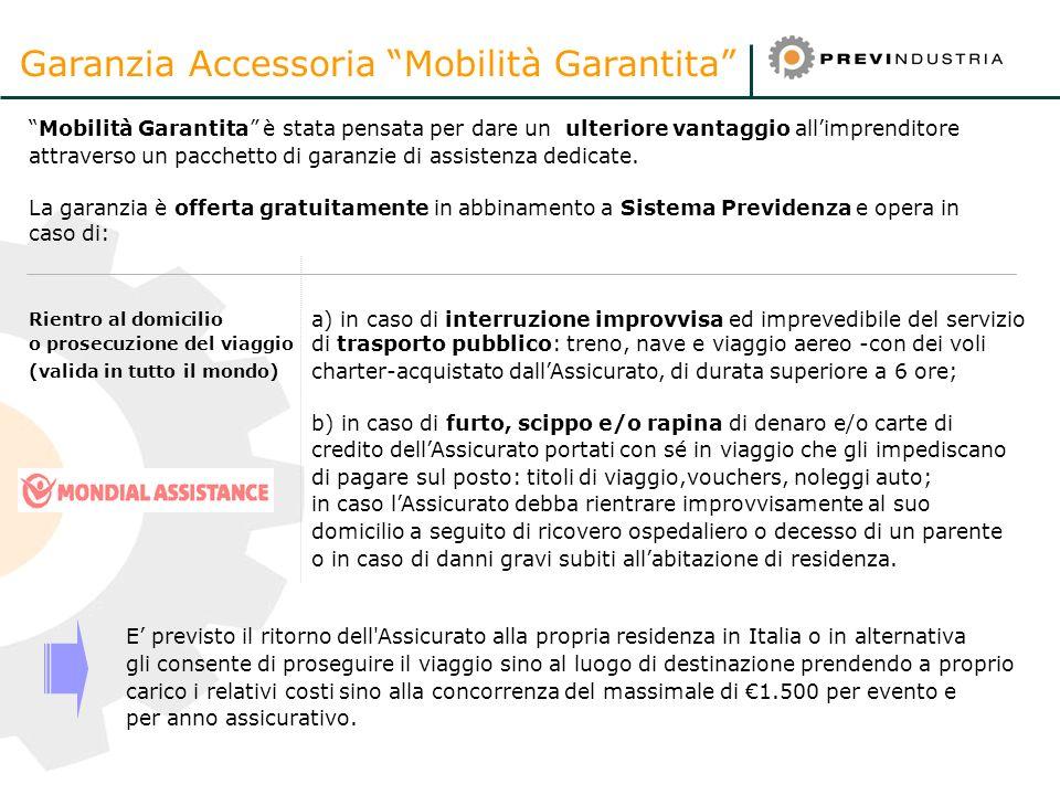 Garanzia Accessoria Mobilità Garantita